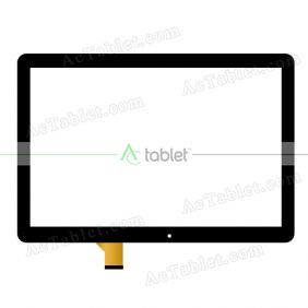 Digitizer Touch Screen Replacement for Overmax Qualcore 1023 3G Quad Core 10.1 Inch Tablet PC