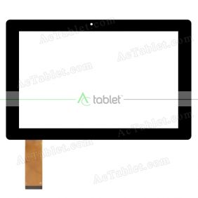 HOTATOUCH HC253168F-PG FPC V1.0 Digitizer Glass Touch Screen Replacement for 10.1 Inch MID Tablet PC