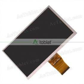 FPC-LB07002.V0 LCD Display Screen Replacement for 7 Inch Tablet PC