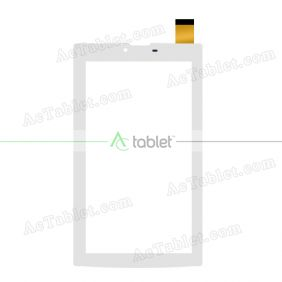 WJ1275-FPC-V1.0 Digitizer Glass Touch Screen Replacement for 7 Inch MID Tablet PC