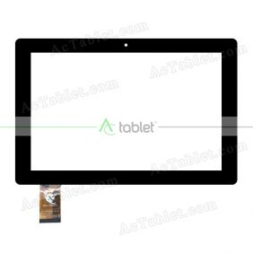 XC-PG1010-069-FPC-A2 Digitizer Glass Touch Screen Replacement for 10.1 Inch MID Tablet PC