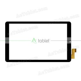 XLD1082-V0 Digitizer Glass Touch Screen Replacement for 10.1 Inch MID Tablet PC
