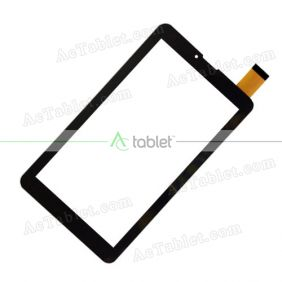 QCY-FPC-070180V02 Digitizer Glass Touch Screen Replacement for 7 Inch MID Tablet PC