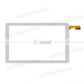 DH-10151A1-PG-FPC392 ZS Digitizer Glass Touch Screen Replacement for 10.1 Inch MID Tablet PC