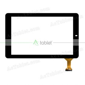 WJ1525-FPC V1.0 Digitizer Glass Touch Screen Replacement for 10.1 Inch MID Tablet PC