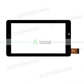 WJ1676-FPC V1.0 Digitizer Glass Touch Screen Replacement for 7 Inch MID Tablet PC