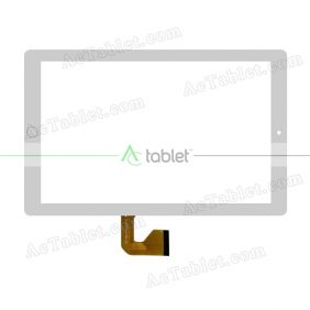CX-17-078B Digitizer Glass Touch Screen Replacement for 10.1 Inch MID Tablet PC
