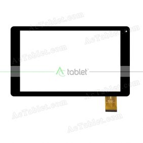 WJ1675-FPC V1.0 Digitizer Glass Touch Screen Replacement for 10.1 Inch MID Tablet PC