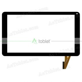 Replacement Touch Screen for Yuntab V101H 10.1 Inch Quad core Allwinner A33 Tablet PC