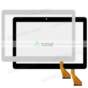 Digitizer Glass Touch Screen Replacement for Tabtronics 10.1 Inch 3G 4G Quad Core Tablet PC
