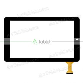 Digitizer Touch Screen Replacement for RCA RCT6K03W13R Quad Core 10.1 Inch Tablet PC