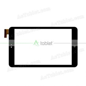 Digitizer Touch Screen Replacement for Protab PTBPTW81QC8BLK Z3735F Quad Core Windows 8 Inch Tablet PC