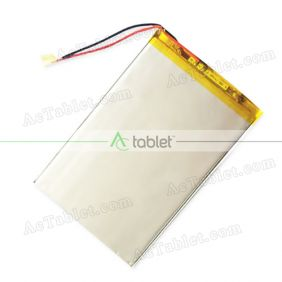 Replacement Battery for NuVision TM1088 TM1088C Quad Core 10.1 Inch Tablet PC 3.7V