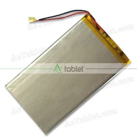 Replacement Battery for Kocaso M1066 Allwinner A20 Dual Core 10.1 Inch Tablet PC