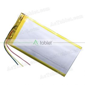 Replacement 3000mAh Battery for PBS KIDS Playtime Pad+ PBSKD7001 7 Inch Tablet PC