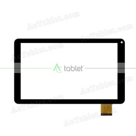 Digitizer Touch Screen Replacement for Denver TAQ-10213GMK2 Quad Core 10.1 Inch Tablet PC