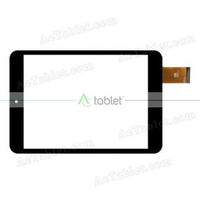FM801101KA Digitizer Glass Touch Screen Replacement for 7.9 Inch MID Tablet PC