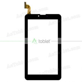 DXP2-0637-070A Digitizer Glass Touch Screen Replacement for 7 Inch MID Tablet PC