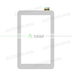 YTG-G80119-F1 V1.1 Digitizer Glass Touch Screen Replacement for 7 Inch MID Tablet PC
