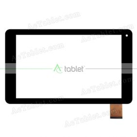 DXG2J2-0531-101C Digitizer Glass Touch Screen Replacement for 10.1 Inch MID Tablet PC