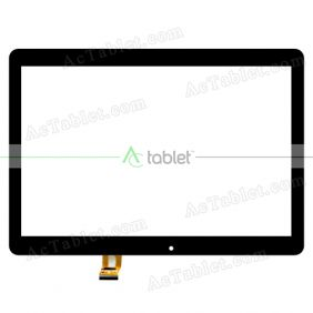 XC-PG1010-171-A2 Digitizer Glass Touch Screen Replacement for 10.1 Inch MID Tablet PC