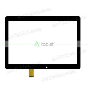 AST-1008 Digitizer Glass Touch Screen Replacement for 10.1 Inch MID Tablet PC