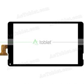 WJ1671-FPC-V1.0 Digitizer Glass Touch Screen Replacement for 10.1 Inch MID Tablet PC