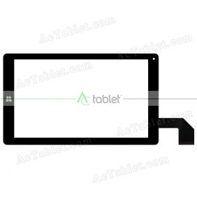 C133230A1-DRFPC341T-V1.0 Digitizer Glass Touch Screen Replacement for 9 Inch MID Tablet PC