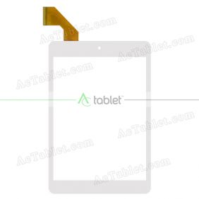 MJK-0709/2016.11.09 FLT Digitizer Glass Touch Screen Replacement for 7.9 Inch MID Tablet PC