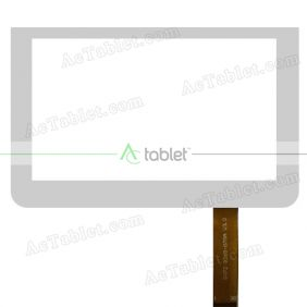 DXP2-0265-070A V3.0 Digitizer Glass Touch Screen Replacement for 7 Inch MID Tablet PC