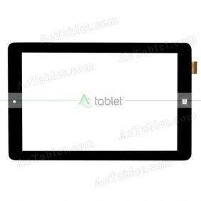WJ888-FPC V2.0 Digitizer Glass Touch Screen Replacement for 8 Inch MID Tablet PC