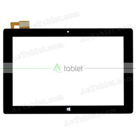 XC-PG1010-025-A1-FPC Digitizer Glass Touch Screen Replacement for 10.1 Inch MID Tablet PC