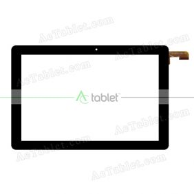 DH-1082A3-PG-FPC349 Digitizer Glass Touch Screen Replacement for 10.1 Inch MID Tablet PC