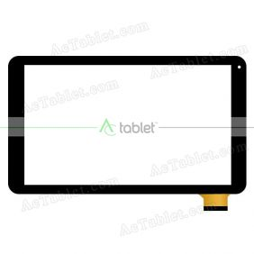 WJ991-FPC-V1.0 Digitizer Glass Touch Screen Replacement for 10.1 Inch MID Tablet PC