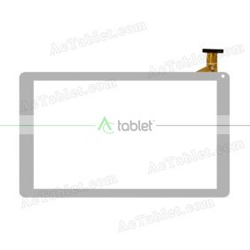 Digitizer Glass Touch Screen Replacement for SPC Glow 9763232B Quad Core 10.1 Inch Tablet PC