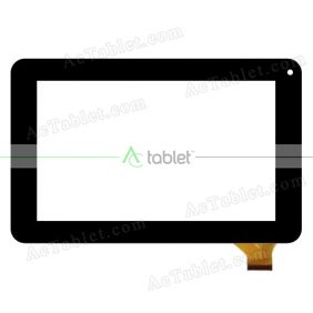 ZP9156-7 Ver.00 Digitizer Glass Touch Screen Replacement for 7 Inch Tablet PC