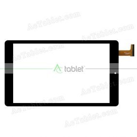 SG6378-FPC-V1-1 Digitizer Glass Touch Screen Replacement for 7 Inch MID Tablet PC