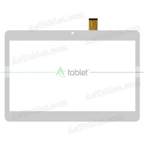 MJK-0884-V1FPC/2017.12 Digitizer Glass Touch Screen Replacement for 10.1 Inch Archos Tablet PC
