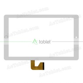 MJK-0908-FPC Digitizer Glass Touch Screen Replacement for 10.1 Inch MID Tablet PC