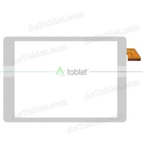 XC-PG0970-010-A0 Digitizer Glass Touch Screen Replacement for 9.7 Inch MID Tablet PC