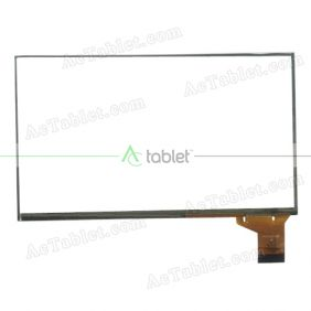 YT0700158 Digitizer Glass Touch Screen Replacement for 7 Inch MID Tablet PC