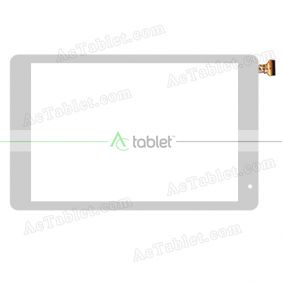 WJ1501-FPC-V1.0 Digitizer Glass Touch Screen Replacement for 10.1 Inch MID Tablet PC