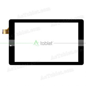 HC257157C2-PG FPC V2.0 Digitizer Glass Touch Screen Replacement for 10.1 Inch MID Tablet PC