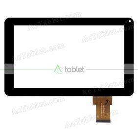 TE-0900-0016-FPC Digitizer Glass Touch Screen Replacement for 9 Inch MID Tablet PC