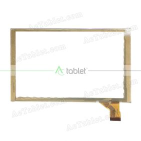 GY70008-FPC Digitizer Glass Touch Screen Replacement for 7 Inch MID Tablet PC