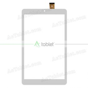 SQ-PG81580-FPC-A0 Digitizer Glass Touch Screen Replacement for 8 Inch MID Tablet PC