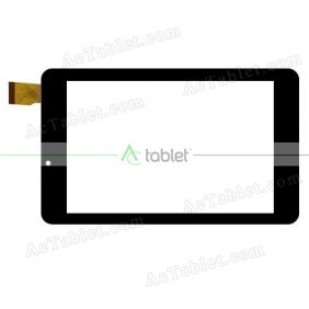 FHF70040 V2.0 Digitizer Glass Touch Screen Replacement for 7 Inch MID Tablet PC