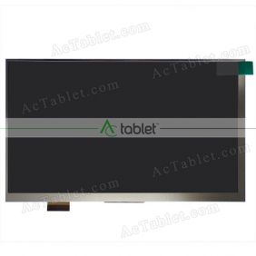 Replacement AL0252B FPC0703008 LCD Screen for 7 Inch Tablet PC