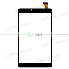 YJ560FPC-V0 Digitizer Glass Touch Screen Replacement for 8 Inch MID Tablet PC