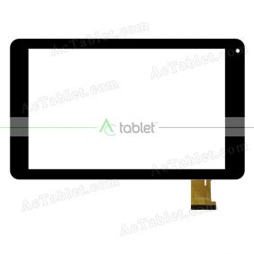 YJ588FPC-V0 H10885M Digitizer Glass Touch Screen Replacement for 10.1 Inch MID Tablet PC